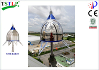 CE Approved Ese Lightning Arrester For Tower / Solar System / Ship /  Electric Fence