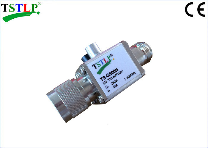 500MHz 3.5A Lightning Surge Arrester With N Connector For Antenna System